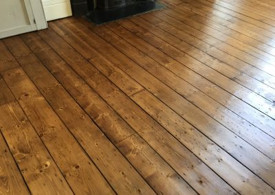 Stained Floor